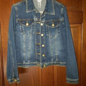 Vintage Lilly Pulitzer jean jacket